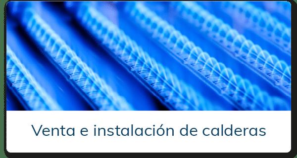 venta e instalación de calderas